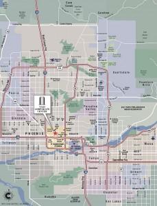 Viad Corporate Center Location Map